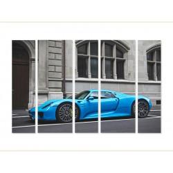 "Модульна картина ""Porsche 918 Spyder"""