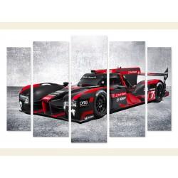 "Модульна картина ""Audi R18"""