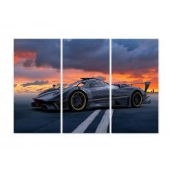 """Модульна картина """"Porsche 911"""""""