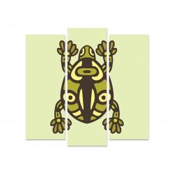 """Модульна картина """"Leopard Frog"""""""