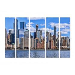 "Модульна картина ""Manhattan, New York"""