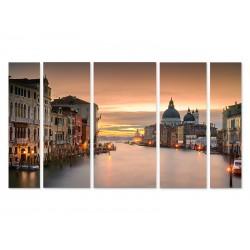 """Модульна картина """"Гранд канал у Венеції, Італія"""""""