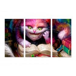 """Модульна картина """"Чеширський кіт"""""""