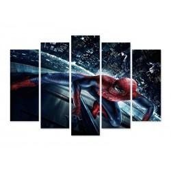 """Модульна картина """"Людина павук в місті """""""