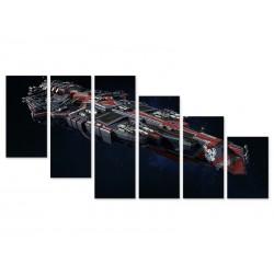 """Модульна картина """"Star Wars Spaceships"""""""