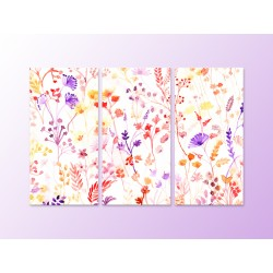 "Модульна картина ""Watercolor Floral"""