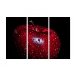 "Модульна картина ""Червоне яблуко"""