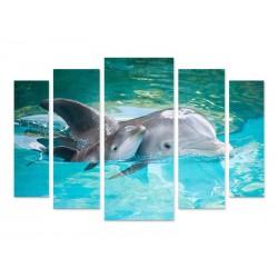 """Модульна картина """"Дельфін"""""""