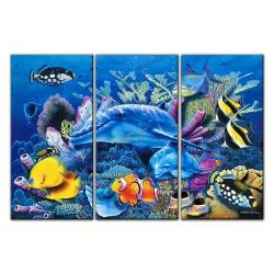 """Модульна картина """"Підводний світ"""""""