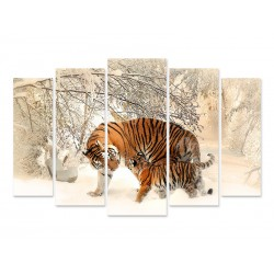 "Модульна картина ""Тигр"""
