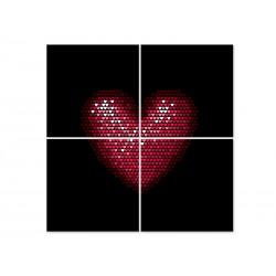 "Модульна картина ""Heart"""