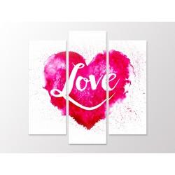 "Модульна картина ""Love"""