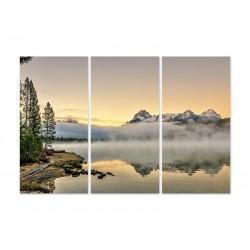 """Модульная картина """"Озеро Айдахо"""""""
