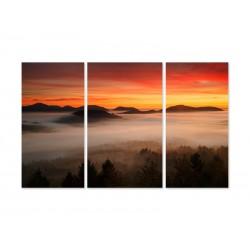 """Модульна картина """"Захід Сонця"""""""