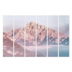 """Модульная фотокартина """"Скалистые горы"""""""