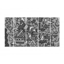 "Модульна картина ""Doodle"""