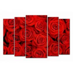 """Модульна картина """"Троянди"""""""