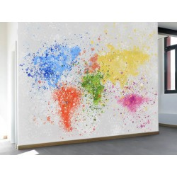 "Фотошпалери ""Map art"""