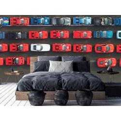 """Фотошпалери """"Парад автомобілів Ferrari"""""""