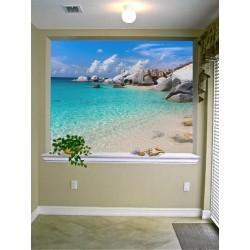 """Фотошпалери """"Райський пляж"""""""