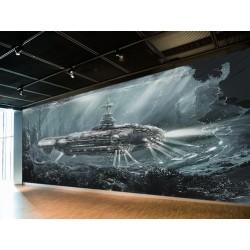 "Фотошпалери ""Twenty thousand leagues under the sea"""