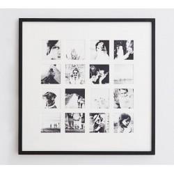 """Фоторамка """"Gallery"""" на 16 фотографій, колір на вибір"""