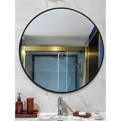 Дзеркало кругле в металевій рамі, колір на вибір