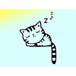 "Наклейка ""Cat zzz"""