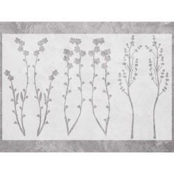 "Трафарет ""Herbarium"""