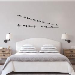 """Наклейка """"Birds"""" комплект"""