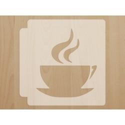 """Трафарет """"Coffee"""""""