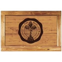 """Постер на дереві """"Вино"""""""