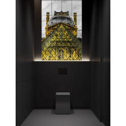 "Панно ""Louvre Museum"""