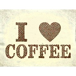 "Наклейка ""I like coffee"""