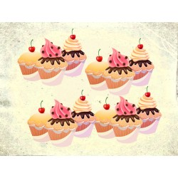 "Наклейка ""Cupcakes"""