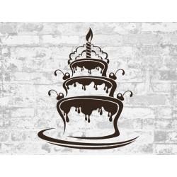 """Наклейка """"Wedding cake"""""""