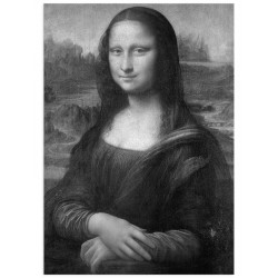 """Постер """"Мона Ліза. Леонардо да Вінчі"""""""