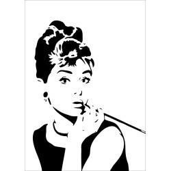 """Постер """"Одрі Хепберн"""""""