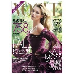 """Постер """"Kate Moss, Vogue Magazine"""""""