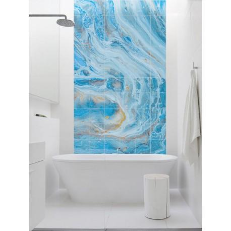 """Панно """"Blue marble"""""""