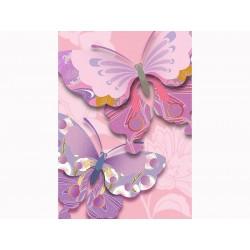 """Фотообои """"Бабочки 3D"""""""